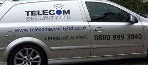 Burglar alarm company in Oxshott